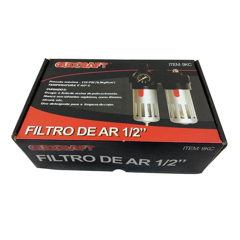 """Filtro de Ar 1/2"""" BFC 4000 - EDA Qualidade Superior"""