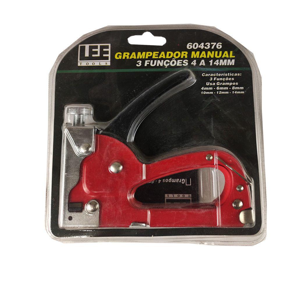 Grampeador Manual 3 Funções - Lee Tools