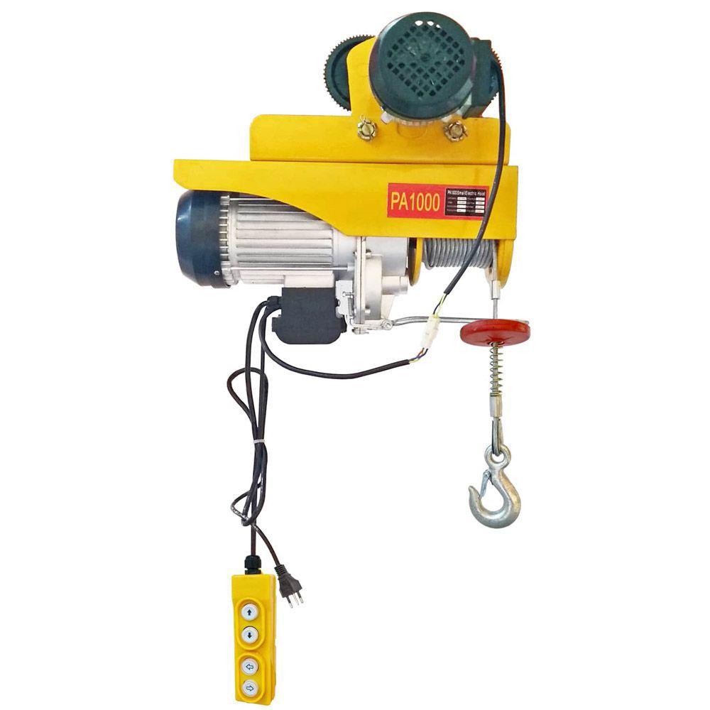 Guincho/Talha Elétrica PA1000 - 1000kg - Com Troller 220v/60hz - 12 Metros