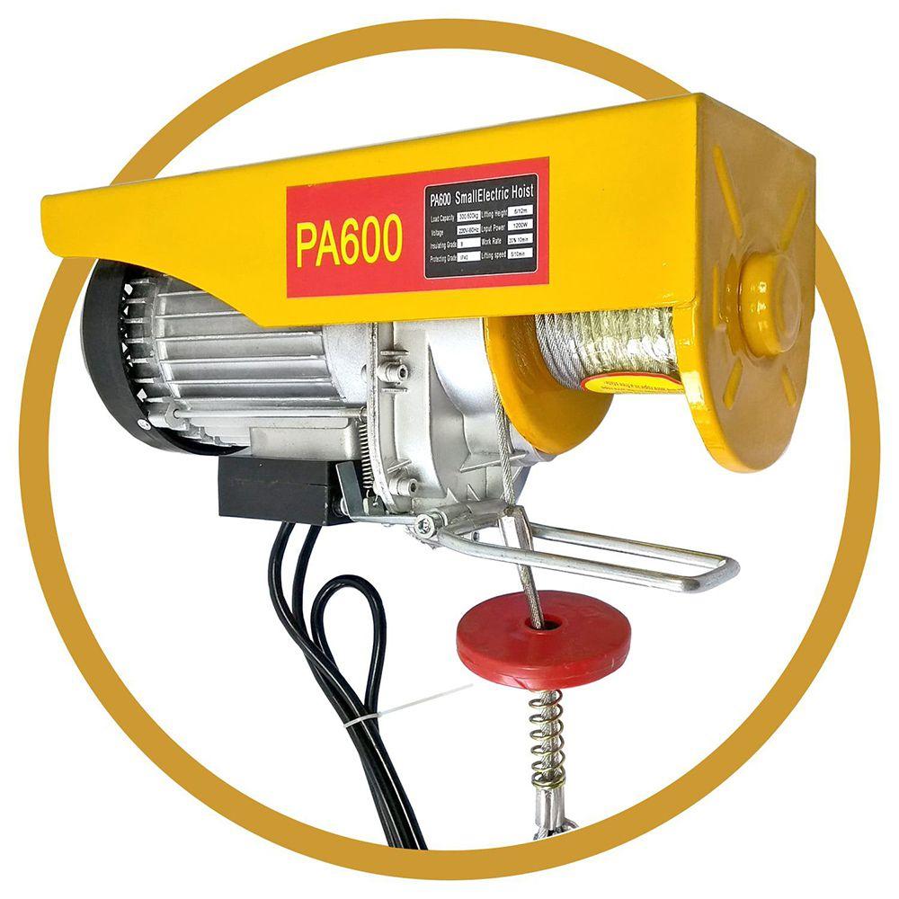 Guincho Elétrico PA600 - 300-600Kg - 12M 220v 60hz