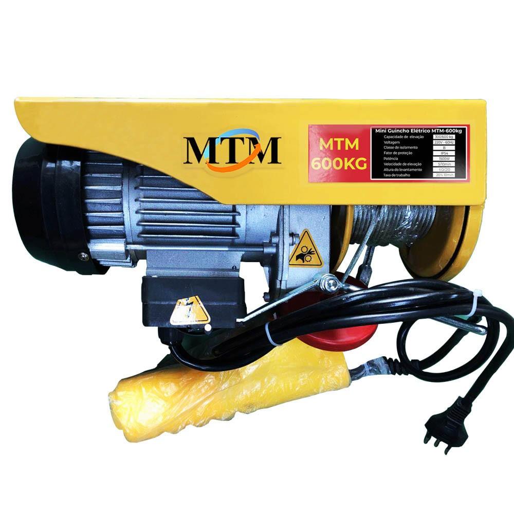 Guincho/Talha Elétrica PA600 - 600kg - 220v - 20 Metros