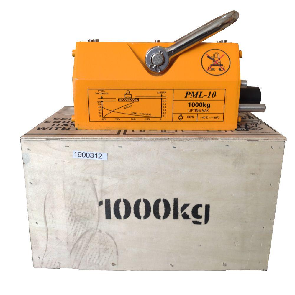 Levantador Magnético - Imã de 1000kg