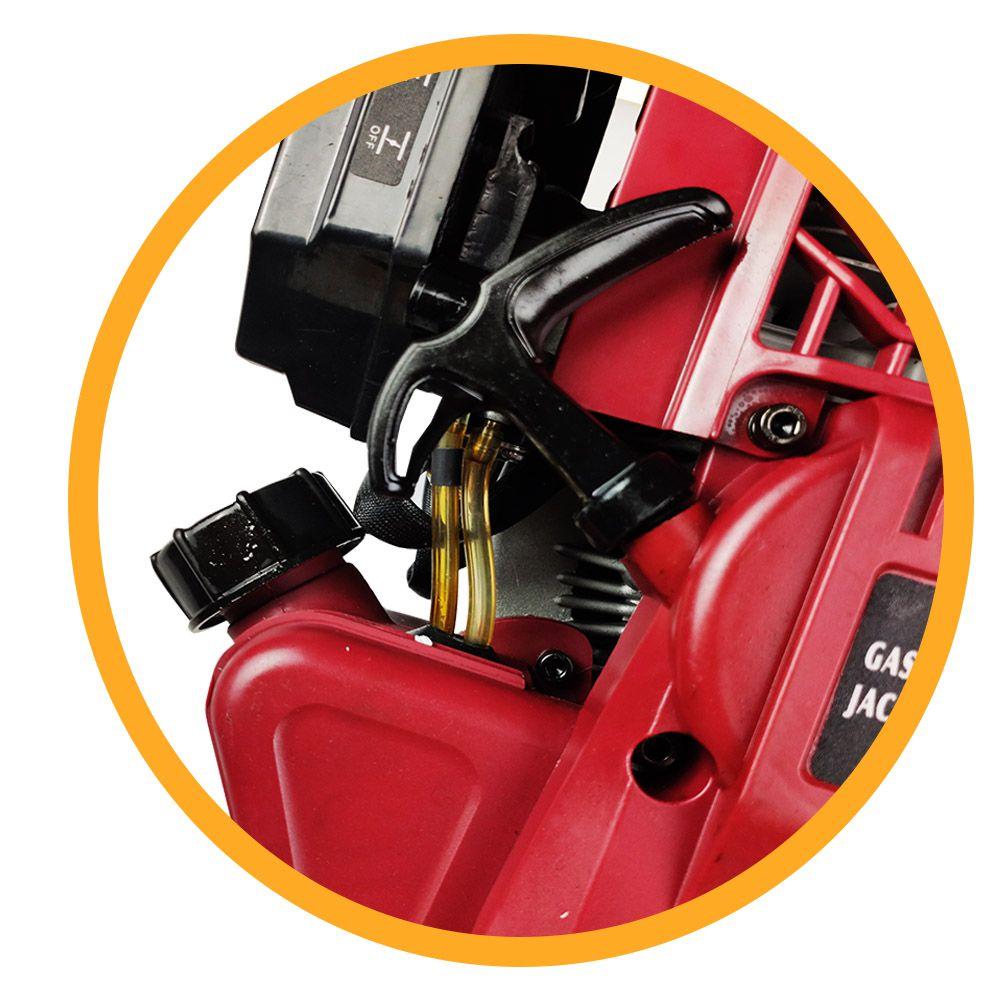 Martelo Demolidor a Gasolina 52cc - 1800wts 6500rpm 2,4HP