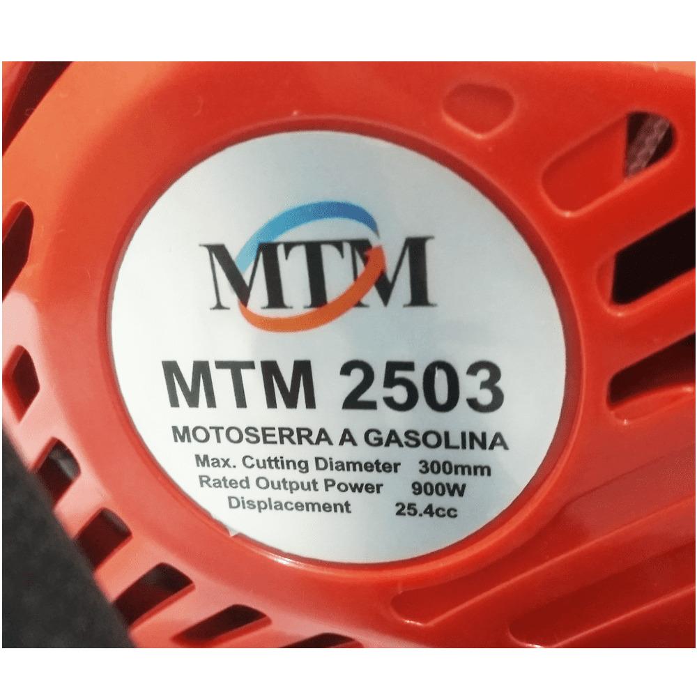 Motosserra A Gasolina 12 - 42cc- 1800rpm - 1,4kw - 3hp