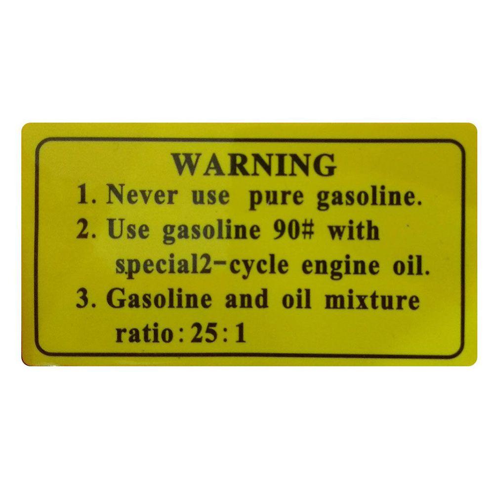 "Motosserra de Corrente 18"" Gasolina 2T - 2800RPM - 52CC - 1,8KW"