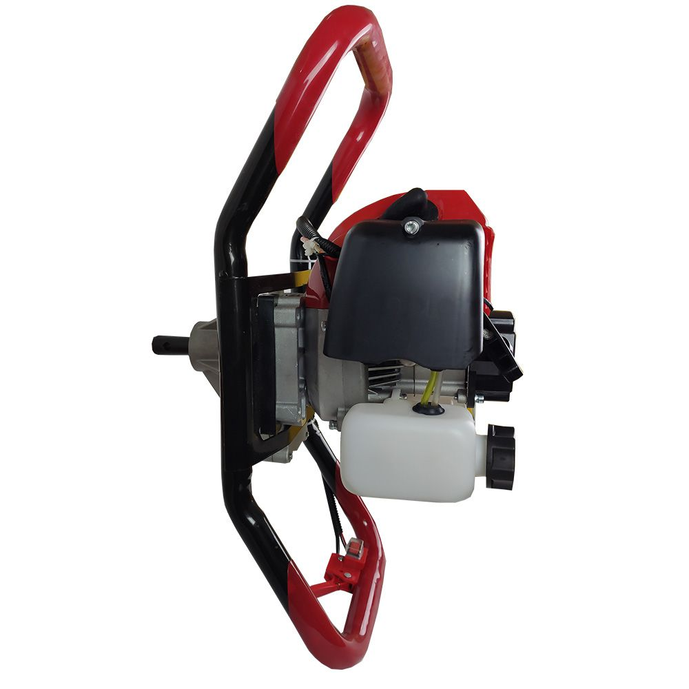 Perfurador de Solo 52cc a Gasolina com Broca de 200mm
