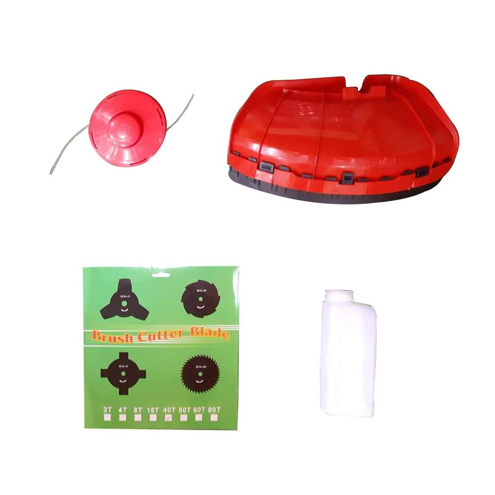 Roçadeira 52cc (Carrinho Com Guidão) Para Cortar Grama