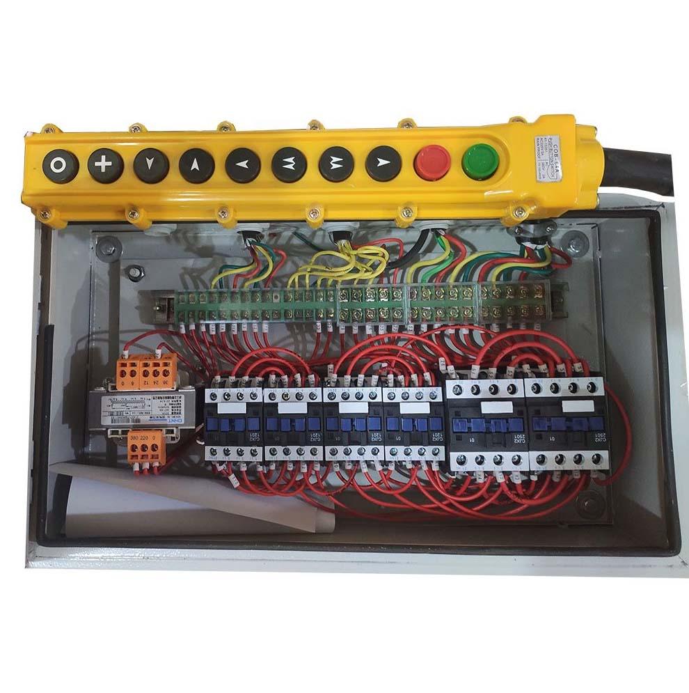 Talha Elétrica 3 Toneladas MD1 (Velocidade Dupla) - 9m de Cabo Aço - Troller 220/380v 60hz