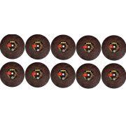 10  Disco Corte 14 X 2,4 X 1 Pol. Para Metal Dewalt Dw44621