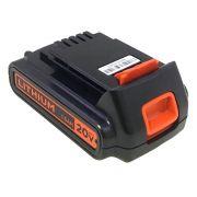 Bateria 20V p/ Parafusadeira Matrix Black e Decker Ld120 20v Max