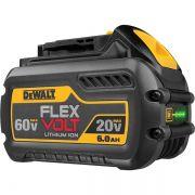 Bateria Íons De Lítio 20v a 60v 6ah Flexvolt Dcb606 Dewalt