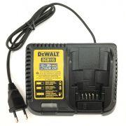 Carregador P/ Parafusadeira DCB115 12v a  20v Dewalt 110v
