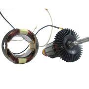 Conjunto Rotor Estator 120V para KR520-BR - Tipo 1 Código: 1005033-01