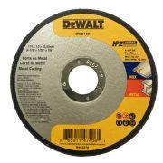 "Disco Corte Inox HP2 4 1/2"" x 1,0mm x 7/8"" DW84401 Dewalt"