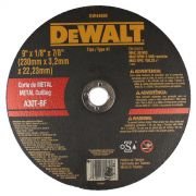 Disco de Corte - Metal 9'' X 3,2mm X 7/8'' DeWALT