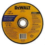 "Disco de Desbaste Alumínio  7"" x 1/4"" x 7/8"" DW80707 DeWALT"