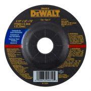 "Disco de Desbaste Inox 4 1/2"" X 6,3mm X 7/8"" DeWALT DW44810"