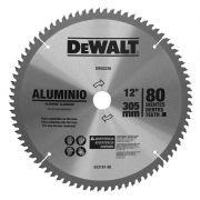 "Disco de Serra 12"" Dw03230 80 Dentes P/ Alumínio Dewalt"