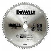 Disco De Serra 80 Dentes Dw03150 Dewalt P/ Madeira