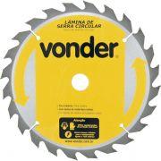 Disco de Serra P/ Madeira Vonder 235 x 25 mm 24 Dentes