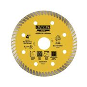 "Disco Diamantado Porcelanato DW57400BHP 4""  105mm Dewalt P/ Serra"