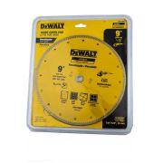 "Disco Diamantado Porcelanato DW57900HP 9""  230mm Dewalt P/ Esmerilhadeiras"