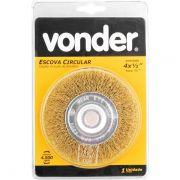 "Escova circular 4""x 1/2"" x 1/2"" Vonder"