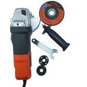 """Esmerilhadeira angular 4.1/2"""" 820W rotação de 11000 rpm - G720 220V"""