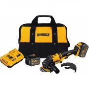 Esmerilhadeira À Bateria DCG414 T2  Dewalt Flexvolt 60v 4.1/2 com 2 Baterias