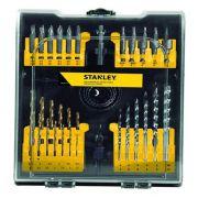 Jogo para Furar e Parafusar 54 Peça Stanley STA4107-LAC