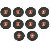Kit 10 Discos De Corte 12 X 3,5mm X 1 Polegada Pantools 46287