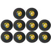 "KIT 10 Discos de Corte AR312 14"" x 1/8 x1"" Norton 66252842902 66252843695"