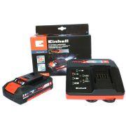 KIT Carregador Bivolt +  Bateria 18v 2AH Einhell  - Power X-change 4512046