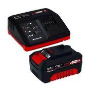 KIT Carregador Bivolt +  Bateria 18v 3ah Einhell  - Power X-change 4512077