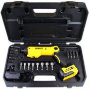 Parafusadeira Bateria 6v Com 45 Acessórios Dewalt Dcf060 Bivolt