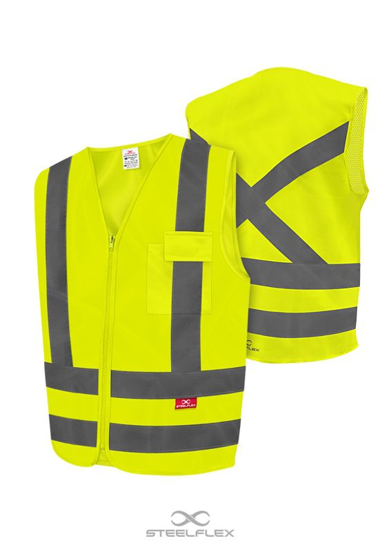 COLETE 1 BOLSO LISO AM FLUOR - XG - 490591010 - STF-VACL91010