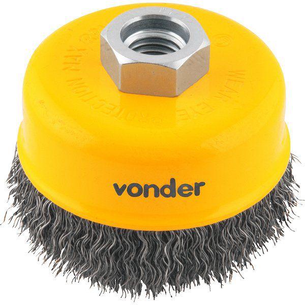 Escova Copo 3'' Ondulada AC Vonder 6325033140