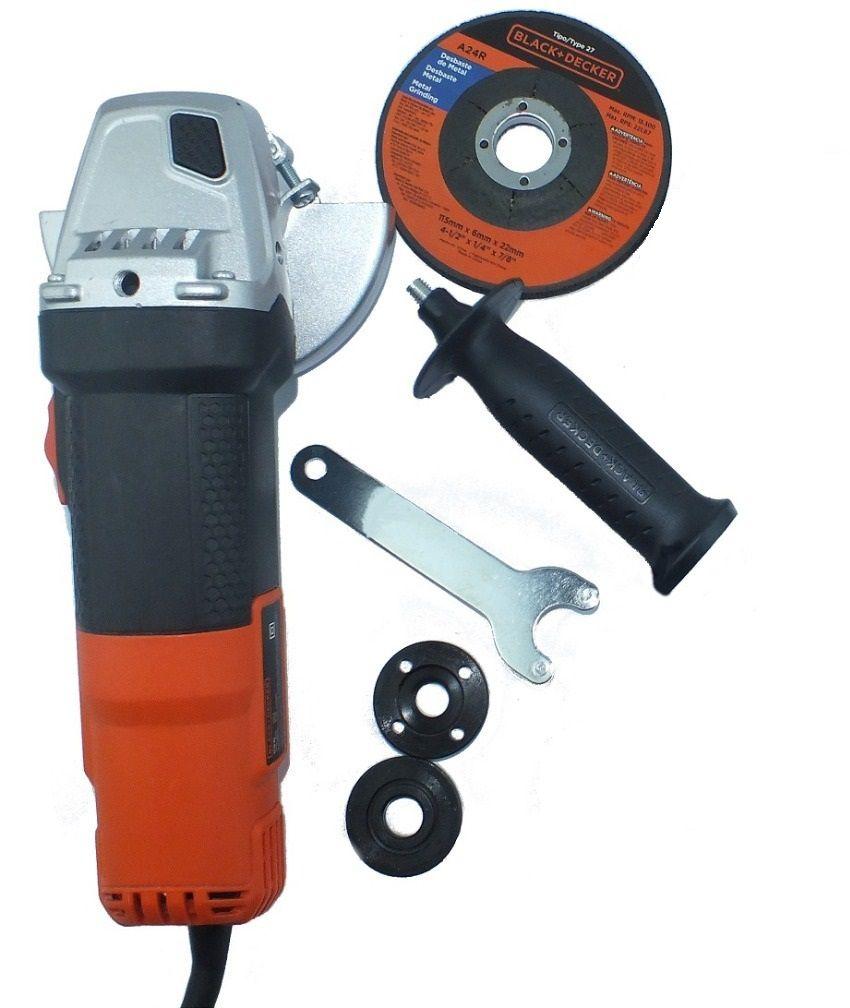 """Esmerilhadeira angular 4.1/2"""" 820 watts rotação de 11000 rpm - G720 127V"""