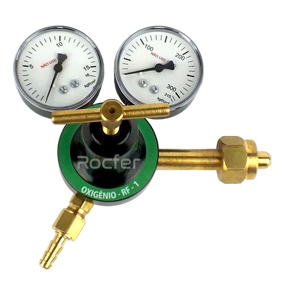 Regulador de Pressão Oxigênio Rocfer RF1