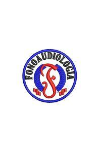Bordado do símbolo da profissão - Fonoaudiologia