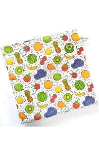 Porta Jaleco Frutas