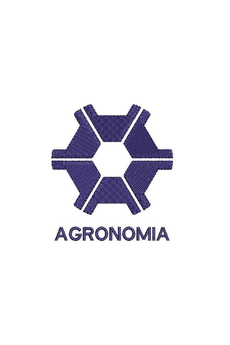Bordado do símbolo da profissão - Agronomia