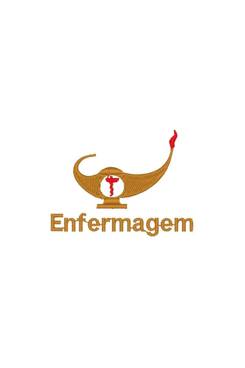 Bordado do símbolo da profissão - Enfermagem 3