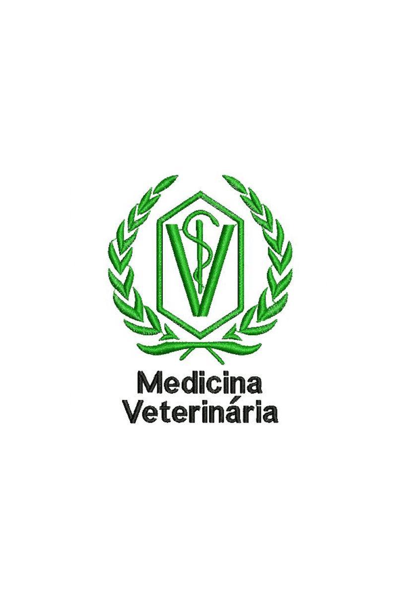 Bordado do símbolo da profissão - Medicina Veterinária