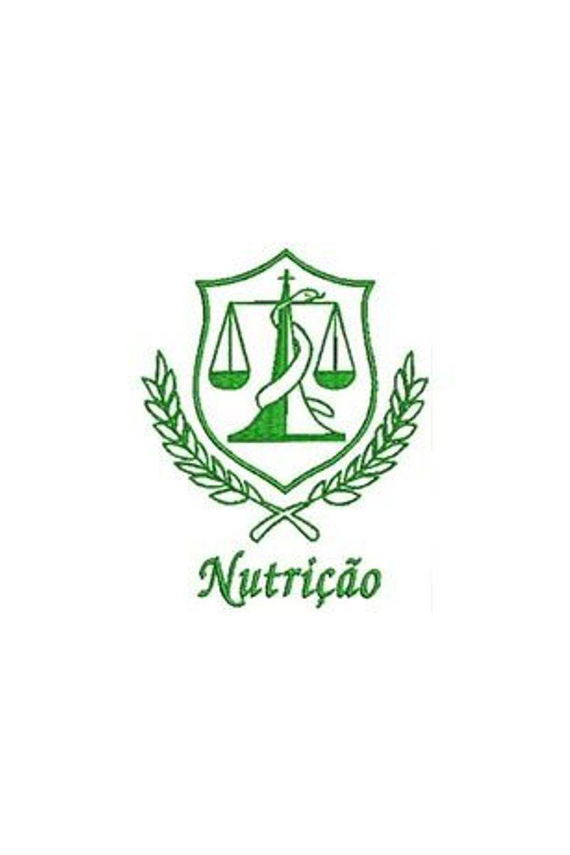 Bordado do símbolo da profissão - Nutrição