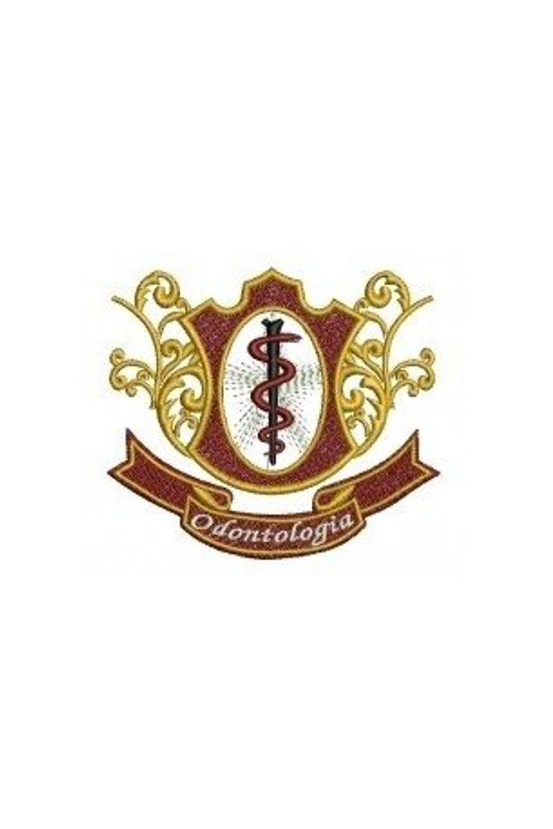 Bordado do símbolo da profissão - Odontologia