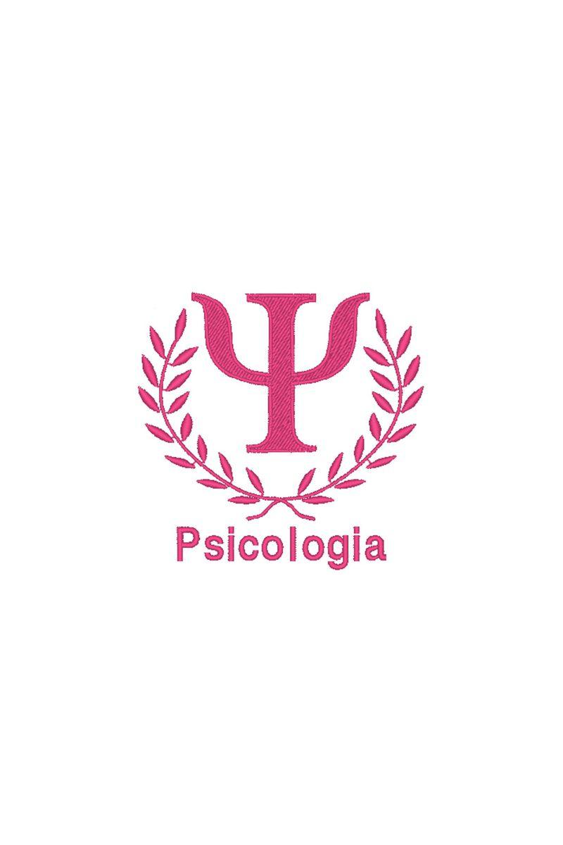 Bordado do símbolo da profissão - Psicologia