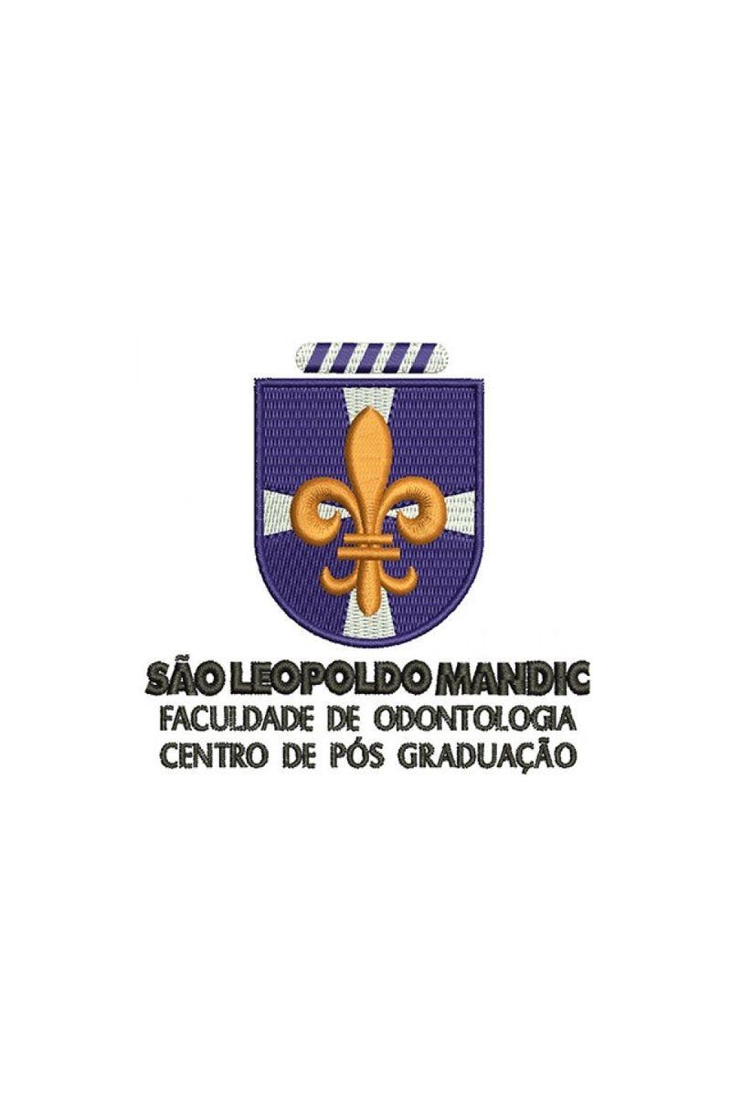 Bordado Instituição de ensino - São Leopoldo Mandic
