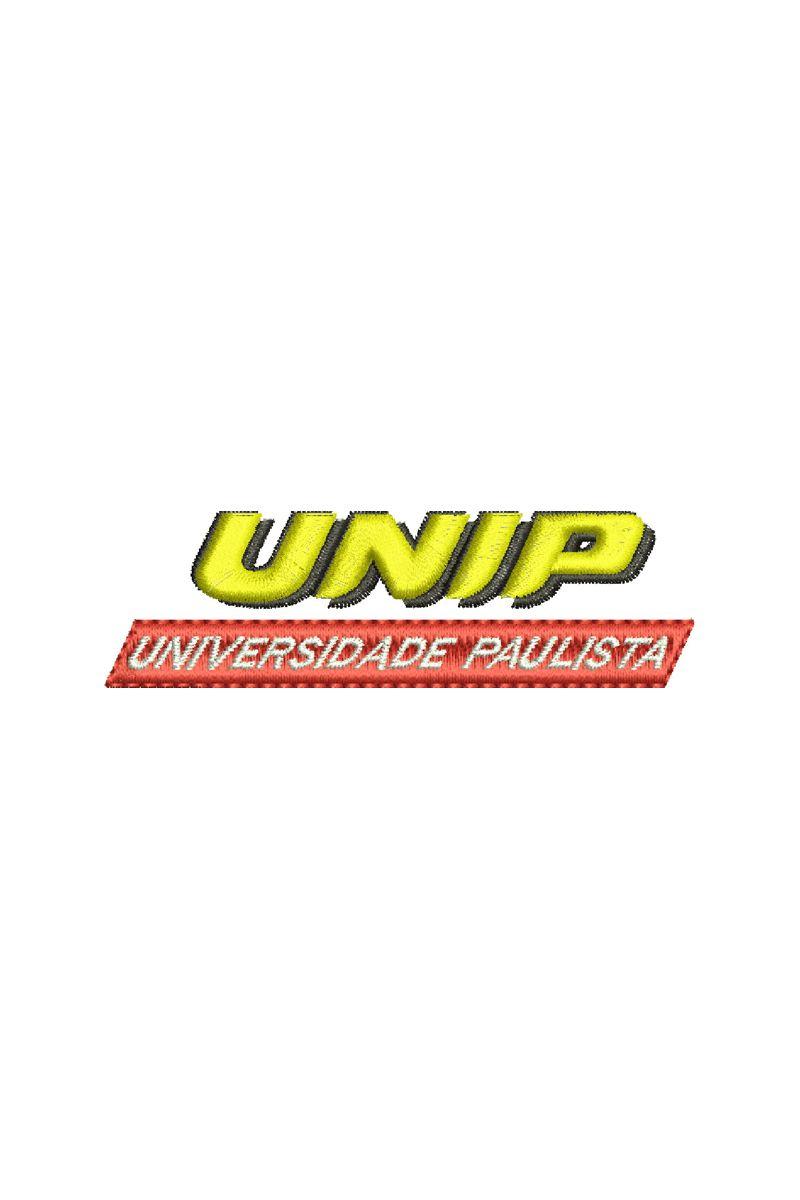 Bordado Instituição de ensino - UNIP