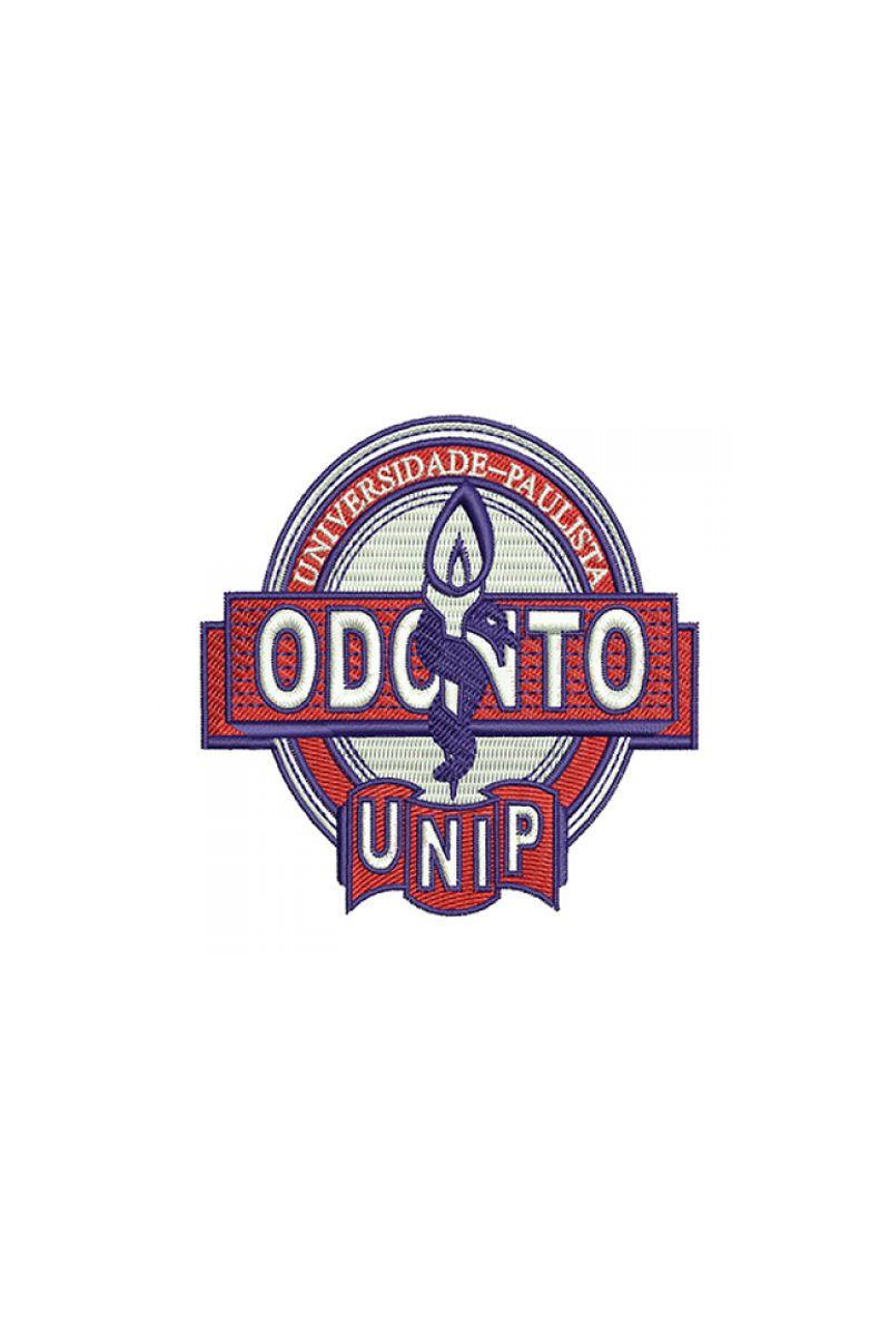 Bordado Instituição de ensino - Unip Odonto